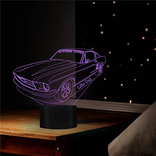 Ford Mustang Lillegul